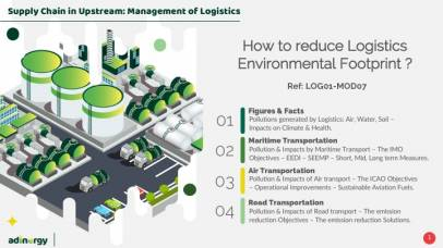How to reduce Logistics environmental footprint ?