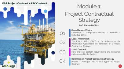 Project Contractual Strategy