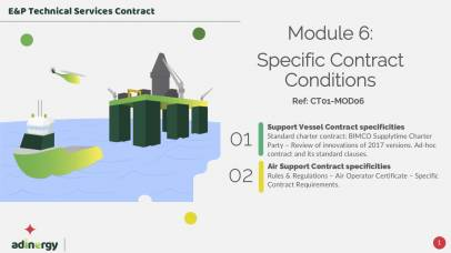 Specific Service Contract Conditions