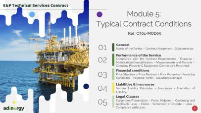 Typical Service Contract Conditions