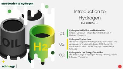 Adinergy publishes its last release: Introduction to Hydrogen